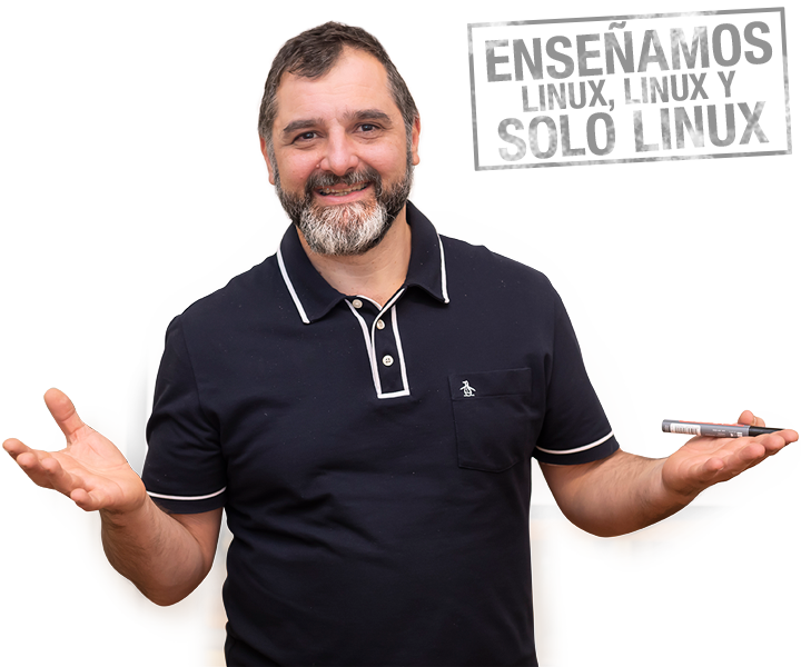 Fabian Ampalio - Enseñamos Linux, Linux y solo Linux